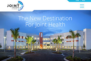 The Joint Care Center website