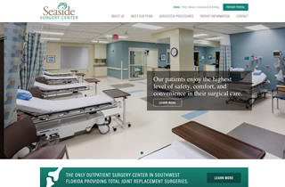 Seaside Surgery Center website