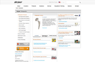 Stryker website