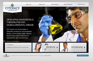 Cytonics website