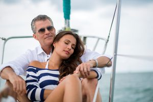Couple on sailboat enjoys benefit of medical tourism