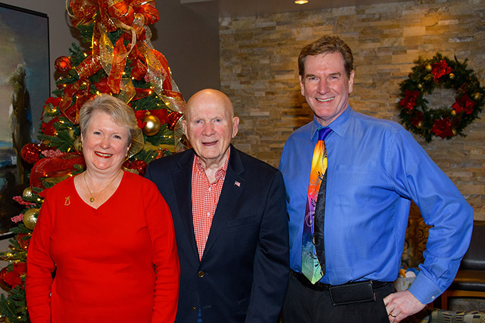 Dr. Robert Zehr with the first ZCO patient, former US Congressman (NY) Gary Lee and Gary's wife Maureen