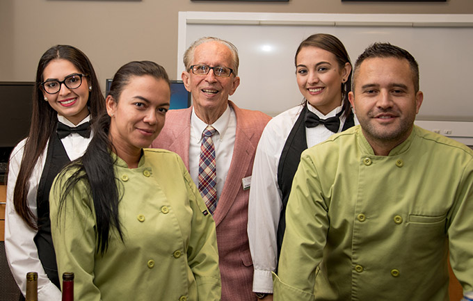The staff of Cappelli's Catering