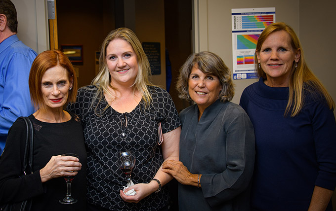 Christine Chase, Sara LaPorte, Chris Perdzok, and Bonita Husted from Seaside Surgery Center