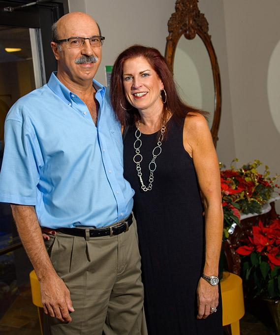 Dr. Luigi and Patti Querusio