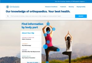 OrthoInfo website
