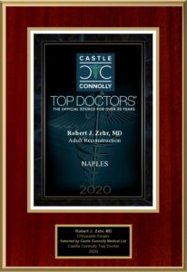 Castle Connolly Top Doc award plaque